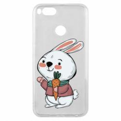 Чехол для Xiaomi Mi A1 Winter bunny