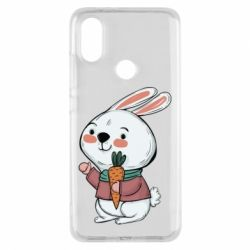 Чехол для Xiaomi Mi A2 Winter bunny