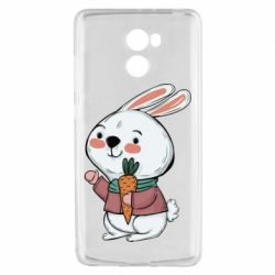 Чехол для Xiaomi Redmi 4 Winter bunny