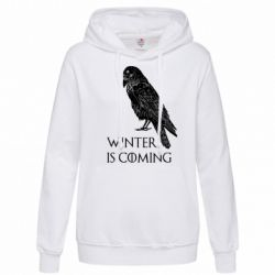 Толстовка жіноча Winter is approaching and crow