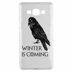 Чохол для Samsung A5 2015 Winter is approaching and crow