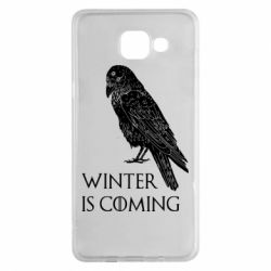 Чохол для Samsung A5 2016 Winter is approaching and crow
