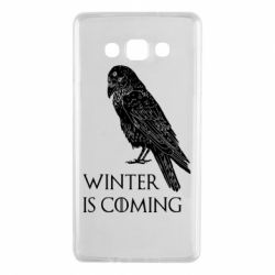 Чохол для Samsung A7 2015 Winter is approaching and crow