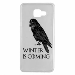 Чохол для Samsung A7 2016 Winter is approaching and crow