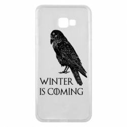 Чохол для Samsung J4 Plus 2018 Winter is approaching and crow