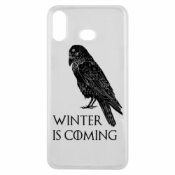 Чохол для Samsung A6s Winter is approaching and crow