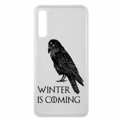 Чохол для Samsung A7 2018 Winter is approaching and crow