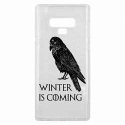 Чохол для Samsung Note 9 Winter is approaching and crow
