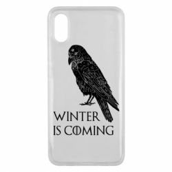 Чохол для Xiaomi Mi8 Pro Winter is approaching and crow