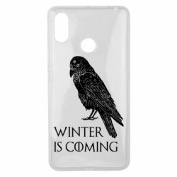 Чохол для Xiaomi Mi Max 3 Winter is approaching and crow