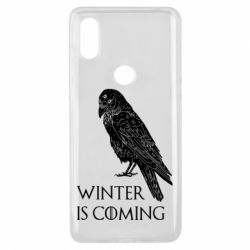 Чохол для Xiaomi Mi Mix 3 Winter is approaching and crow