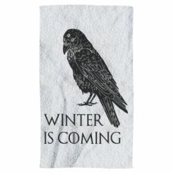 Рушник Winter is approaching and crow