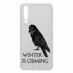 Чохол для Xiaomi Mi9 Winter is approaching and crow