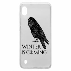 Чохол для Samsung A10 Winter is approaching and crow