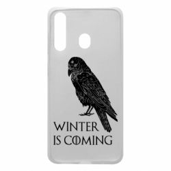 Чохол для Samsung A60 Winter is approaching and crow