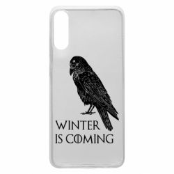 Чохол для Samsung A70 Winter is approaching and crow