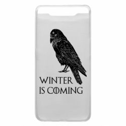 Чохол для Samsung A80 Winter is approaching and crow