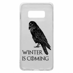 Чохол для Samsung S10e Winter is approaching and crow