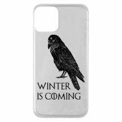 Чохол для iPhone 11 Winter is approaching and crow