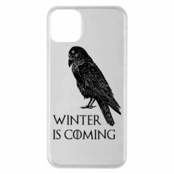 Чохол для iPhone 11 Pro Max Winter is approaching and crow