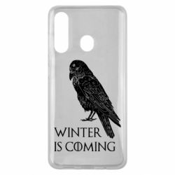 Чохол для Samsung M40 Winter is approaching and crow