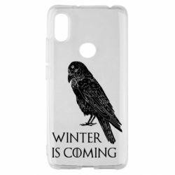 Чохол для Xiaomi Redmi S2 Winter is approaching and crow