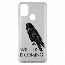 Чохол для Samsung M30s Winter is approaching and crow