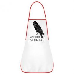 Фартух Winter is approaching and crow