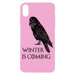 Чохол для iPhone X/Xs Winter is approaching and crow