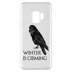 Чохол для Samsung S9 Winter is approaching and crow