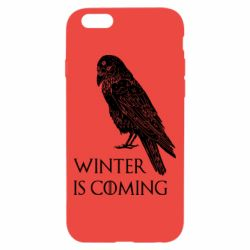Чохол для iPhone 6/6S Winter is approaching and crow