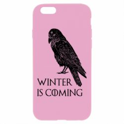 Чохол для iPhone 6 Plus/6S Plus Winter is approaching and crow