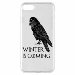 Чохол для iPhone 8 Winter is approaching and crow