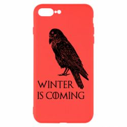 Чохол для iPhone 8 Plus Winter is approaching and crow