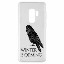 Чохол для Samsung S9+ Winter is approaching and crow