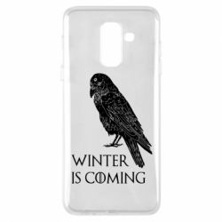 Чохол для Samsung A6+ 2018 Winter is approaching and crow