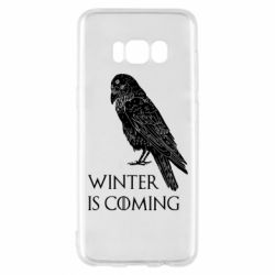Чохол для Samsung S8 Winter is approaching and crow