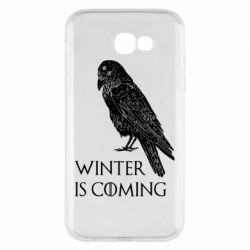 Чохол для Samsung A7 2017 Winter is approaching and crow