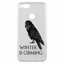 Чохол для Xiaomi Mi A1 Winter is approaching and crow
