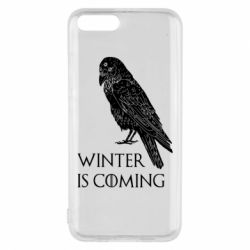 Чохол для Xiaomi Mi6 Winter is approaching and crow