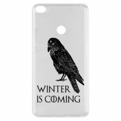 Чохол для Xiaomi Mi Max 2 Winter is approaching and crow