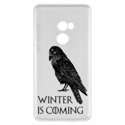 Чохол для Xiaomi Mi Mix 2 Winter is approaching and crow