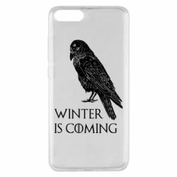Чохол для Xiaomi Mi Note 3 Winter is approaching and crow