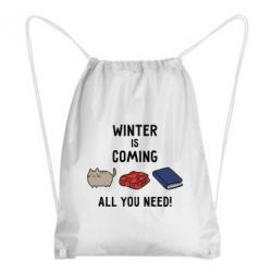 Рюкзак-мешок Winter is coming All you need!