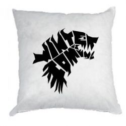 Подушка Winter is coming Art - FatLine