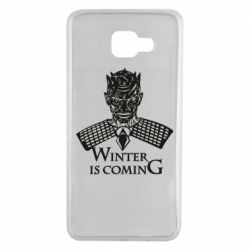 Чехол для Samsung A7 2016 Winter is coming hodak
