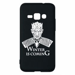 Чехол для Samsung J1 2016 Winter is coming hodak