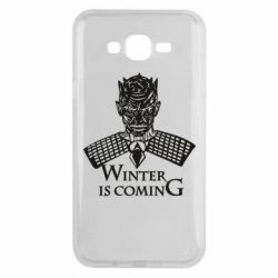 Чехол для Samsung J7 2015 Winter is coming hodak