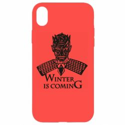 Чехол для iPhone XR Winter is coming hodak