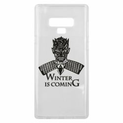 Чехол для Samsung Note 9 Winter is coming hodak